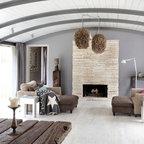 Modern Farm House Farmhouse Living Room Austin By