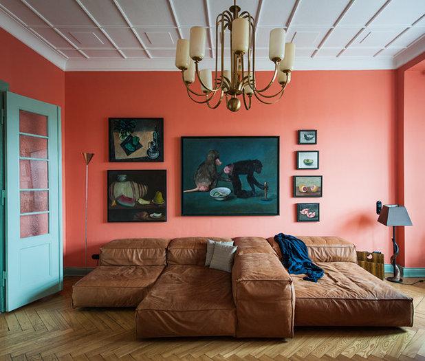 Contemporaneo Soggiorno by Gisbert Pöppler - Architektur und Interieur