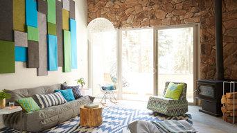 Hexagon Haus - Living Room