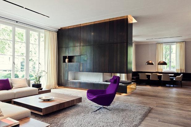 Contemporaneo Soggiorno by Smart Homes