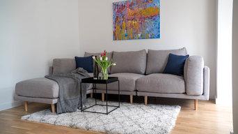 Home Staging Altbremer Haus Wohnzimmmer