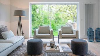 home staging Projekt Haus mit einmaligen Ausblick für den Verkauf inszeniert