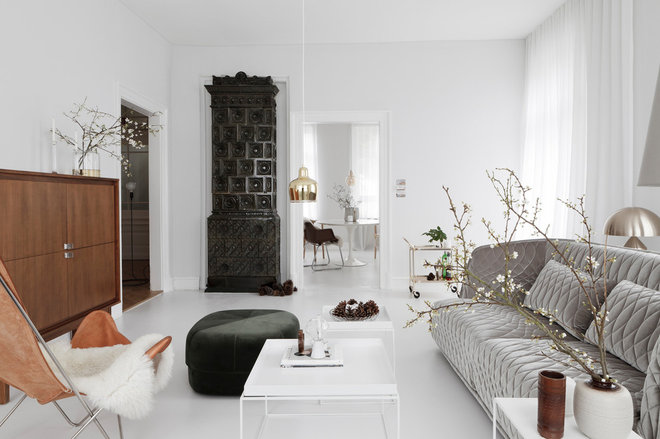 Contemporary Living Room by STUDIO OINK
