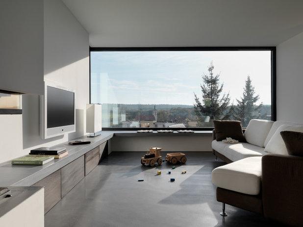 wie praktisch sind eigentlich panoramafenster. Black Bedroom Furniture Sets. Home Design Ideas
