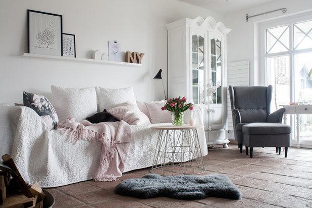 Shabby-Chic-Style Wohnzimmer by Craftifair
