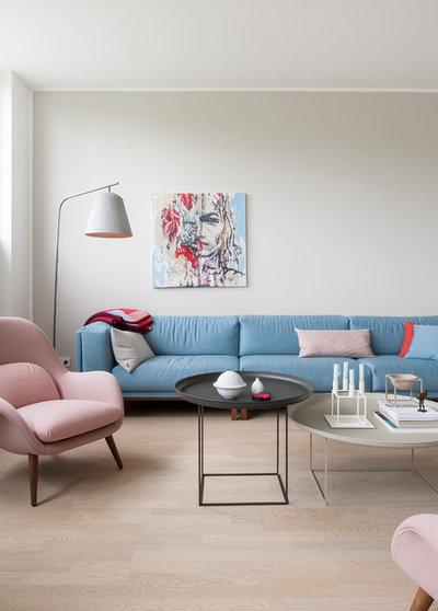 Skandinavisch Wohnbereich by SIMONE AUGUSTIN PHOTOGRAPHY
