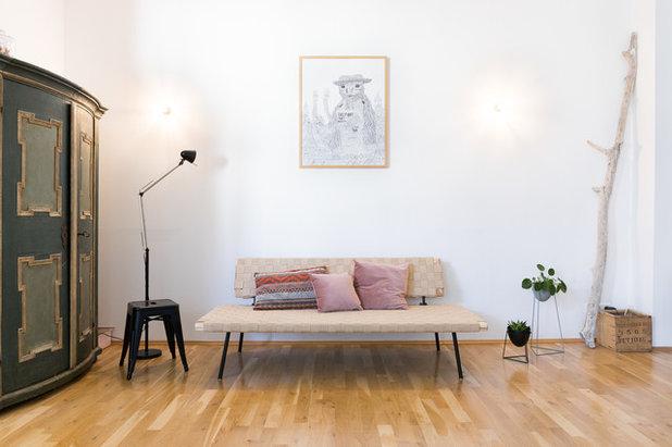 Retro Sala de estar by HEJM - Interieurfotografie