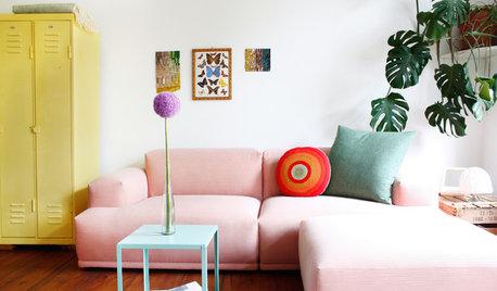 Visita privada: Un piso colorido con muebles 'vintage' en Berlín