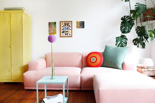 Shabby-Chic-Style Wohnzimmer by Franziska Land