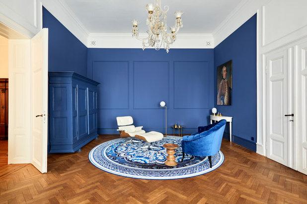 Contemporary Living Room by von Savigny Interior