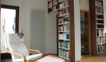 Innenausbau eines Wohnzimmers