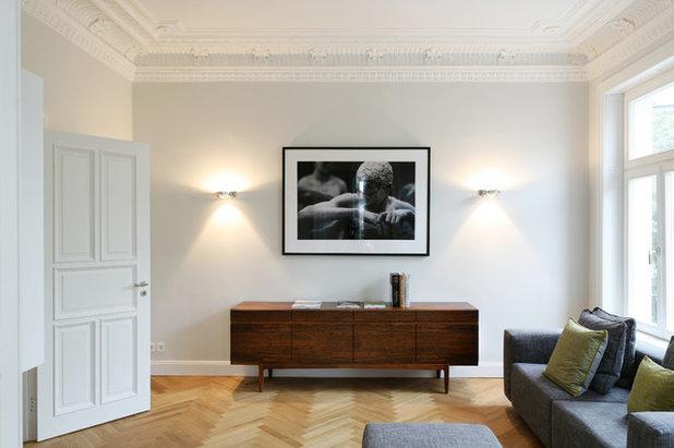 Modern Wohnzimmer by Anya Zuchold
