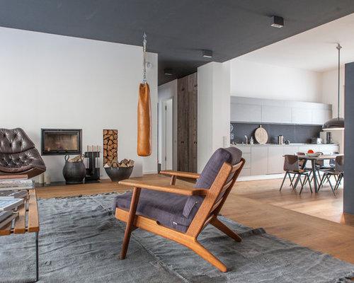 Wohnzimmer mit Kamin Ideen, Design & Bilder   Houzz
