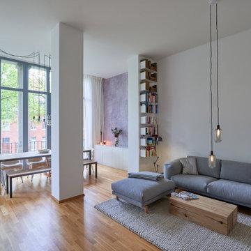 Interiorgestaltung Altbauwohnung - Wohnzimmer