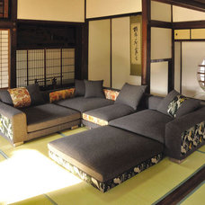 Asian Living Room by trend-studio  interior | exterior