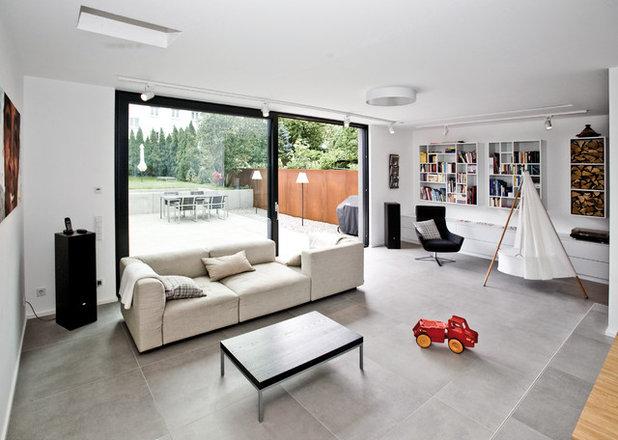 Modern Wohnzimmer By LANG Architekten [.de]