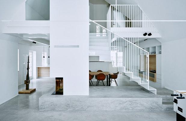 Modern Wohnbereich by grotheer architektur