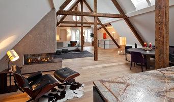 Kamin: Wohnen unterm Dach - Loft