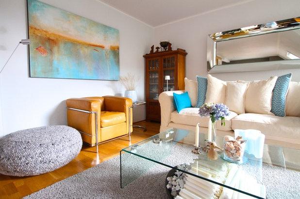 Modern Wohnbereich By Julia Schoppe
