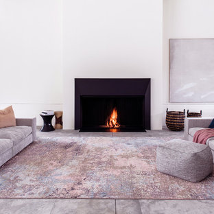 Photo of a contemporary family room in Other.