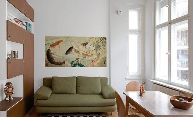 Asiático Sala de estar by RARE Office