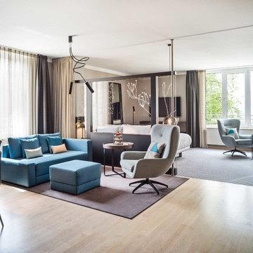 Le Méridien Hamburg, Suiten