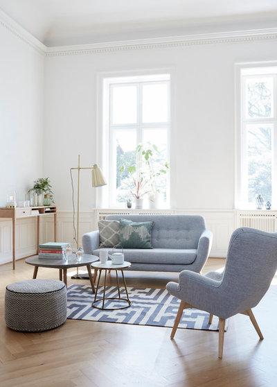Skandinavisch Wohnbereich by myadele online GmbH
