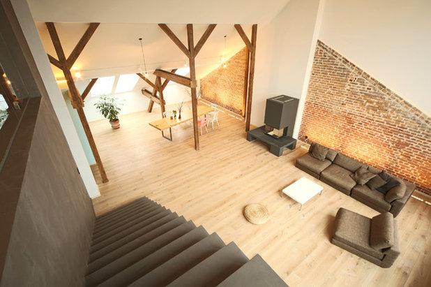 houzzbesuch herz aus beton f r ein berliner dachgeschoss. Black Bedroom Furniture Sets. Home Design Ideas