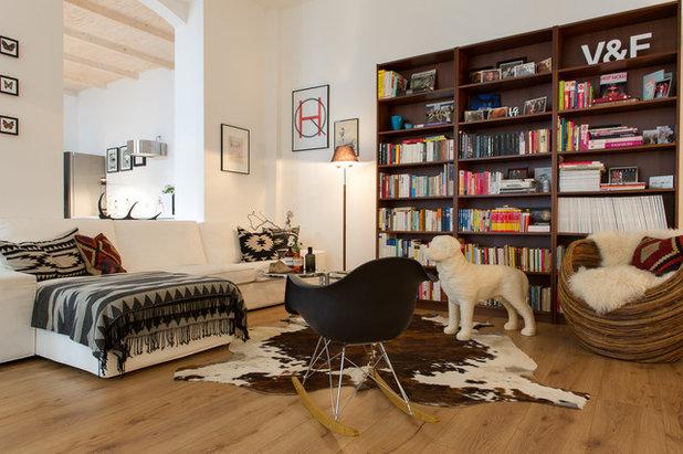 Eclectic Family Room by Rasa en Détail