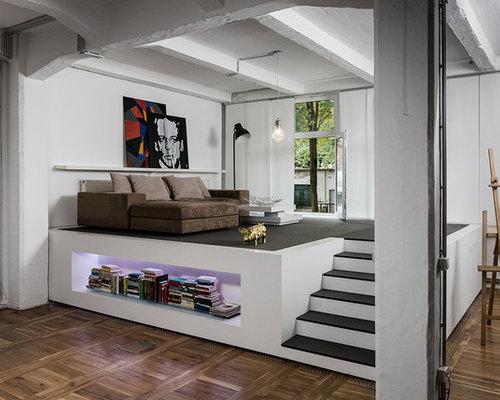 industrial style wohnen im industrial chic houzz. Black Bedroom Furniture Sets. Home Design Ideas
