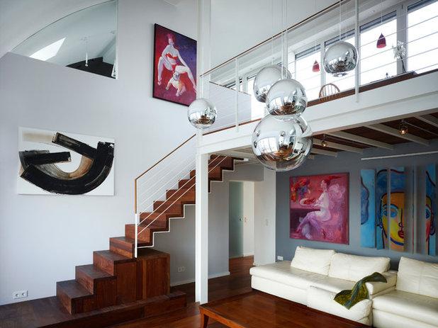 Modern Wohnbereich by Lika Valentien architektur + design