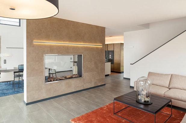 panoramakamin als raumteiler 10 experten tipps f r den einbau. Black Bedroom Furniture Sets. Home Design Ideas