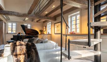 Luxuriöses modernes Bauernhaus