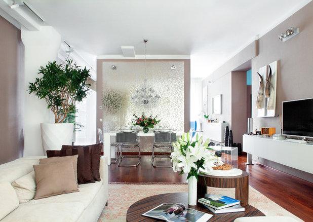 Contemporary Living Room by Luca Girardini - Photos