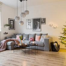 Suivez le Guide : Deux appartements réunis en un duplex épuré