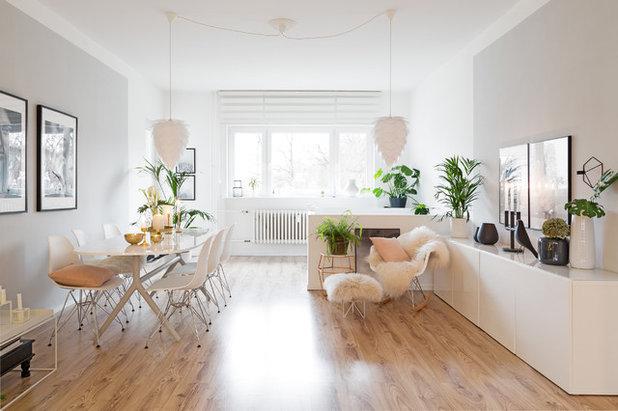 houzzbesuch aus zwei wohnungen wird eine moderne maisonette. Black Bedroom Furniture Sets. Home Design Ideas