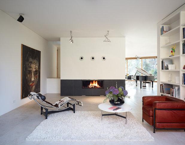 Modern Family & Games Room Minimalistisch Wohnzimmer