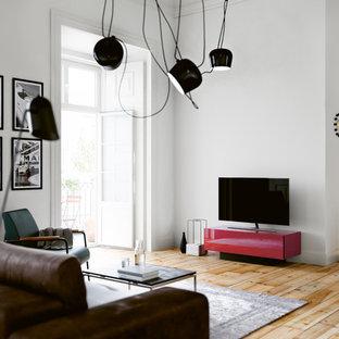 """Minimalistische Möbel für versteckte Technik im Wohnzimmer - """"Brick"""""""