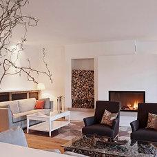 Modern Family Room by Chris Richter