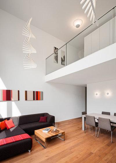 Modern Wohnbereich Modern Wohnbereich