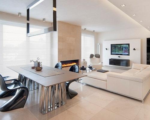 Ideas para salones dise os de salones con marco de - Azulejos decorativos para salones ...