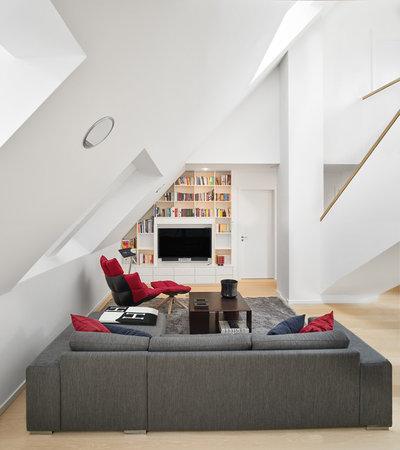 Modern Wohnbereich by Plenus Living