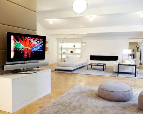 moderne wohnzimmer ideen, design & bilder | houzz - Moderne Wohnzimmergestaltung
