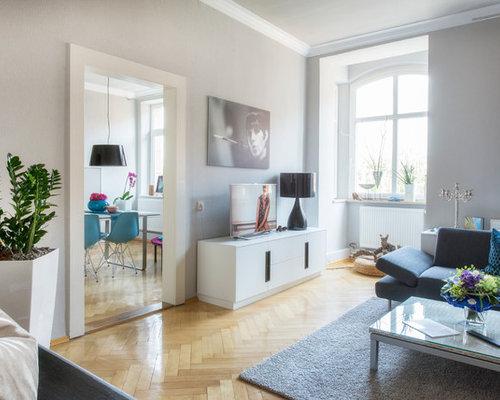 Lieblich Modernes Wohnzimmer In Jugendstil Wohnung
