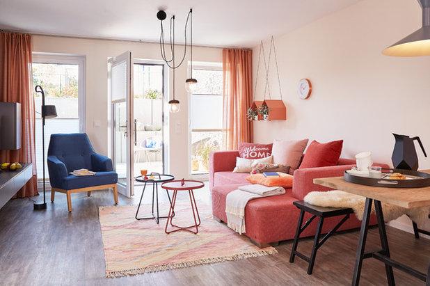 Modern Wohnbereich by Viebrockhaus