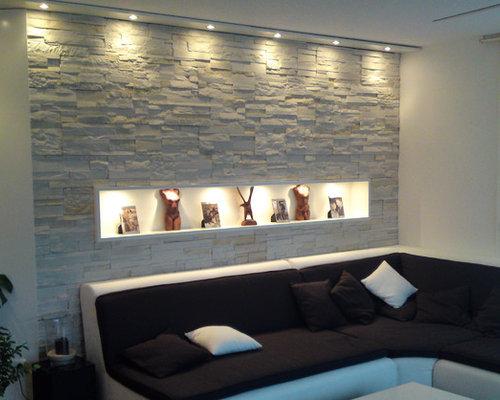 Wohnzimmer Mit Steinwand – usblife.info