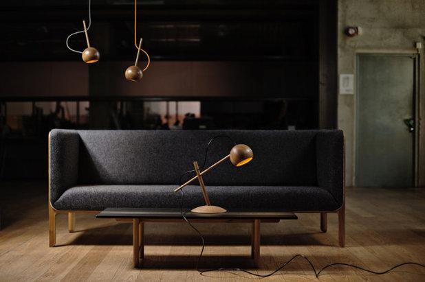 Skandinavisch Wohnbereich Möbeldesigns von Sverre Uhnger