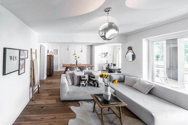8 Gründe, warum Wohnzimmer in grau nicht langweilig sind!