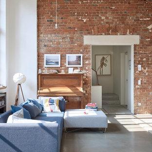 Blaues Sofa Ideen Bilder Houzz