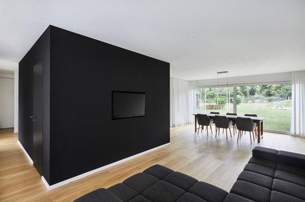 Minimalistisch Wohnbereich by smyk fischer architekten